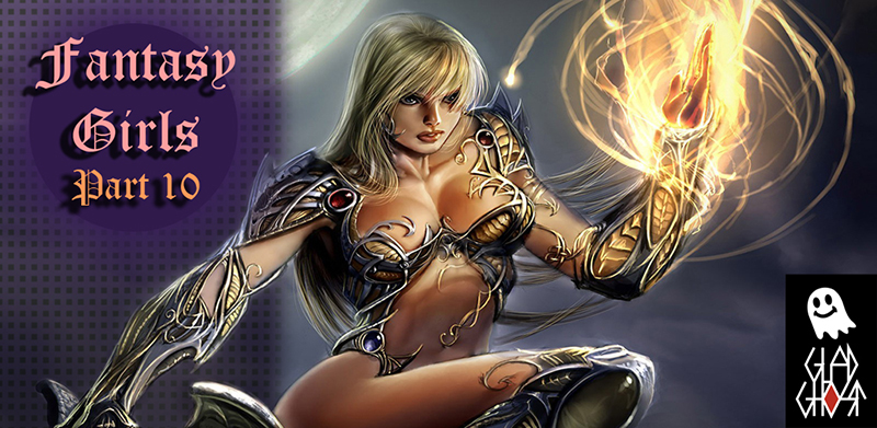 Фэнтези Девушки 10 для Android / Fantasy Girls 10 for Android (Glad-Ghost)