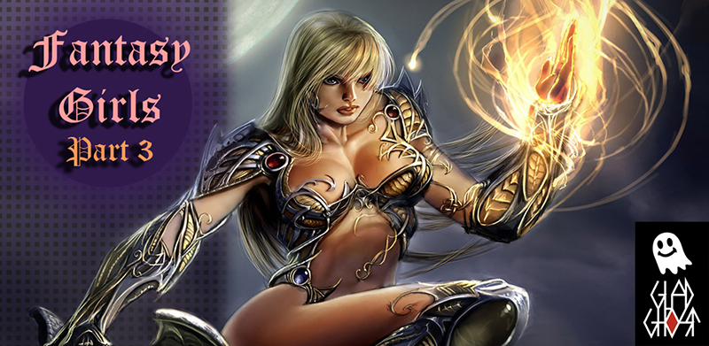 Фэнтези Девушки 3 для Android / Fantasy Girls 3 for Android (Glad-Ghost)