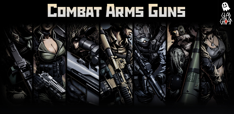 Оружие Combat Arms для Android / Combat Arms Guns for Android (Glad-Ghost)
